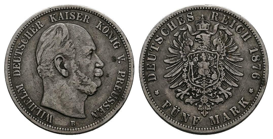 MGS BRD 5 DM 1975 G Albert Schweitzer Feingewicht: 7g