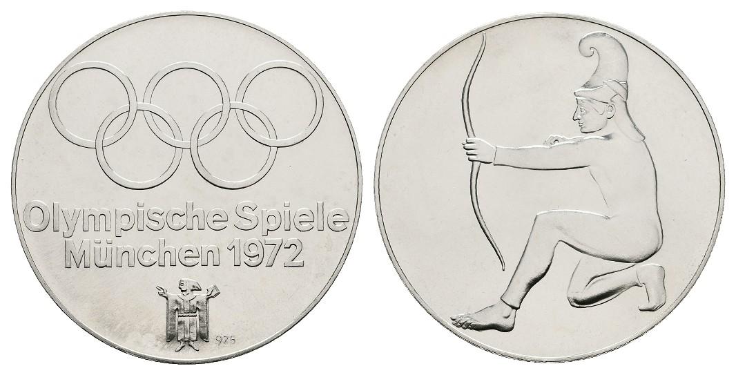 MGS BRD 10 DM 1993 F 1000 Jahre Potsdam Feingewicht: 9,7g