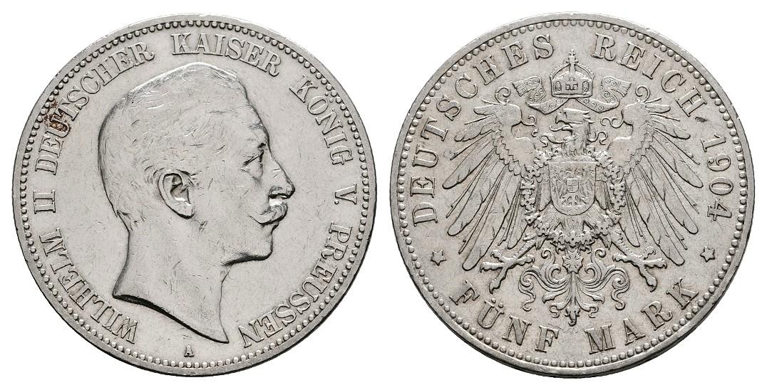 MGS III. Reich 2 Reichsmark 1939 A Hindenburg Feingewicht 5,0g