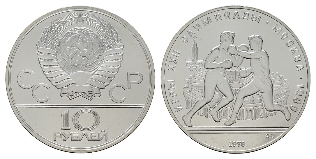 Ma Auction Item 2893509 Mgs Russland 10 Rubel 1979 Olympiade
