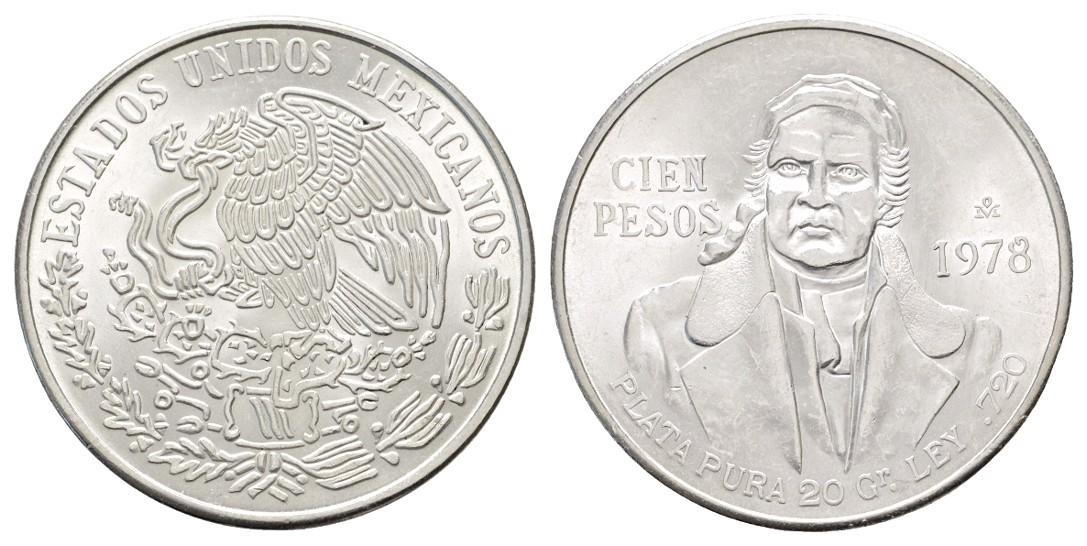 Linnartz Mexiko 10 Pesos 1978 f.stgl