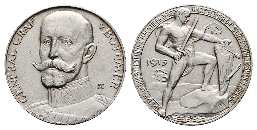 MGS Preussen Wilhelm II. 3 Mark 1909 A f.vz.